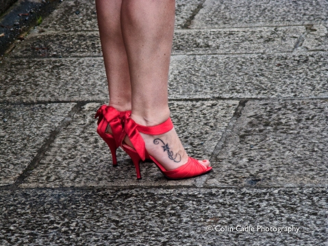 'Red Shoes - Plymouth'